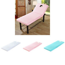 3PCS Universal Massage Table Beauté Draps Housse avec Trou 190x80cm 05