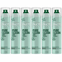 Pack of (6) New Garnier Pure Clean Dry Shampoo, 3.4 Ounce
