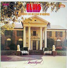 ELVIS PRESLEY ELVIS - Recorded Live On Stage In Memphis LP 1974 ROCK NM- NM-