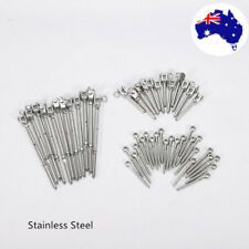 12 pack Stainless Steel Wire Rope DIY Balustrade Kits Jaw/Swage Fork Turnbuckle