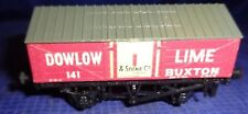 DE057 Vtg Peco Dowlow Lime & Stone Co Ltd Model Railway Train Car OO Gauge