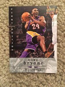 Brand New 2008 Upper Deck Kobe Bryant First Edition Trading Card