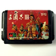 Rare SANGOKUSHI 3 III (JAP) -Jeu pour Sega Megadrive - Game for Sega Mega Drive
