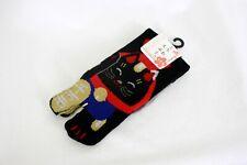 足袋ソックス TABI SOCKS Chaussettes japonaises - Black Manekineko 35/38