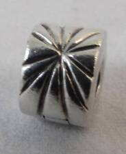 Authentic Danish 925 ALE Pandora Silver Firework Sunburst Clip 790210