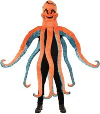 Octopus Mascot Adult Costume Head With Arms Halloween Dress Up Forum Novelties