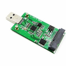 USB 3.0 to Mini PCIE mSATA SSD External mSATA to USB 3.0 SSD Convertor Adapter