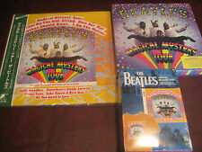 THE BEATLES MAGICAL MYSTERY TOUR JAPAN 2003 OBI LP/ BOOK T-SHIRT CD SINGLES DVD