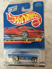 Hot Wheels TATOO MACHINES Series 57 T BIRD  #1 Of 4 Cars (Mattel, 1997) NEW