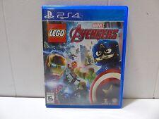 LEGO Marvel's Avengers (Sony PlayStation 4, 2016) (109030-1 R) U11