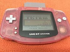 Nintendo Game Boy Advance Pink Fuchsia System Handheld Console Super FREE SHIP!
