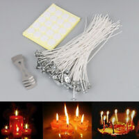 100Pc Candle Wick with Candle Wick Stickers and Candle Wick Centering D T YAN
