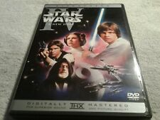 Star Wars IV : A New Hope ( DVD,2004, English/French/Spanish )