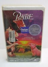 VHS **Sealed** Babe Pig Movie 1996 Clamshell Case