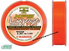 FILO SURFCASTING XPS 0,30 LONGCAST FLUO  ORANGE - 1200 mt - 0.307 mm - TRABUCCO