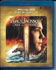 BLU RAY 3D + BLU RAY + DVD--PERCY JACKSON 2 - LA MER DES MONSTRES