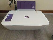 HP Deskjet 2546P All In One RARE Purple Wireless Printer USB & Power Cords