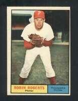 1961 Topps #20 Robin Roberts EXMT+ Phillies 123102