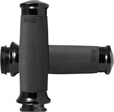 Avon Grips - CC-86-ANO-FLY - Custom Contour Grips, Black Anodized 17-9359