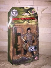 "WORLD PEACEKEEPERS MILITARY BAZOOKA 3 3/4"" ACTION FIGURE 1:18 SCALE"