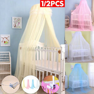 Baby Crib Mosquito Net Princess Dome Bed Netting Newborn Bedding Canopy Toddler