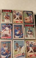 Leon Durham Baseball Card Mixed Lot approx 73 cards