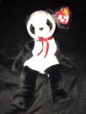 """Ty Beanie Baby """"Fortune"""" Panda Bear Retired 12/6/1997  RARE"""