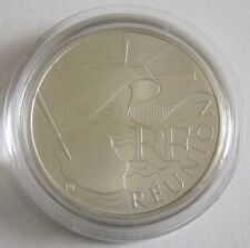 Frankreich 10 Euro 2010 Regionen Réunion Silber