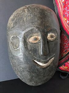 Old African Carved Wooden Mask …beautiful patina and a great expression