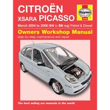 Citroen Xsara Haynes Manual 2004-08 1.6 1.8 2.0 Petrol 1.6 2.0 Diesel