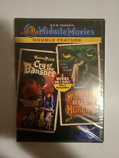 Cry of the Banshee/Murders in the Rue Morgue (DVD, 2003, Midnite Movies Double …