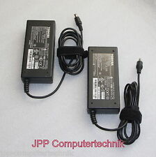 2 x LOT ORIGINAL Toshiba 15V 6A 90W PA2521U-2AC3 PA3954U-1ACA Ladegerät Adapter