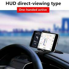 Dashboard Mount Car Phone Holder HUD Stand 360° Rotation For Smartphone GPS