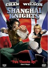 Like New DVD Shanghai Knights Jackie Chan Owen Wilson Fann Wong Aidan Gillen