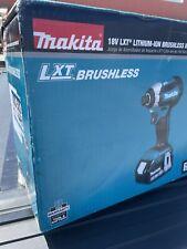 NEW!!! Makita 18V LXT BL Li-Ion 1/4 in. Impact Driver Kit (3 Ah) XDT131