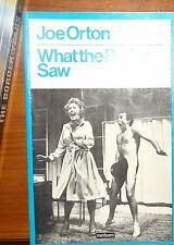Joe Orton What the Butler Saw Paperback Play 1976