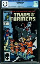 Transformers #36 CGC 9.8 Marvel 1988 1st Sky Lynx and Sandstorm! WP! L5 214 1 cm