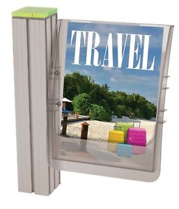 Injection Moulded Literature holders. A4,A5 and DL sizes. PACK OF 5
