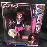 Monster High Ghouls Rule Draculaura Doll Brand New Sealed NIB Halloween 2012
