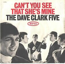 DAVE CLARK FIVE--PICTURE SLEEVE ONLY--(CAN'T U SEE THAT SHE'S MINE)--PS--PIC-SLV
