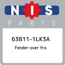 63811-1LK3A Nissan Fender-over fro 638111LK3A, New Genuine OEM Part