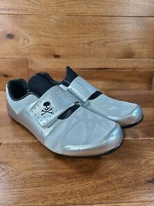 Pearl Izumi Men's Silver Soulcycle Soul Legend Cycling Shoes Spinning Sz 44