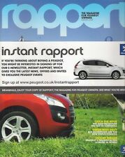 Peugeot Rapport Magazine Summer 2009 UK Market Brochure 207 308 3008 Le Mans