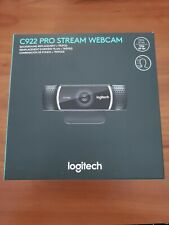 Logitech C922 Pro Stream HD Webcam - Black - (960-001087)