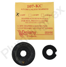 Delany 107-3-KC Diaphragm Renewal Kit for Water Closets with 1