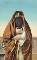 br104444 costume of an arab woman egypt africa egypt  folklore costume
