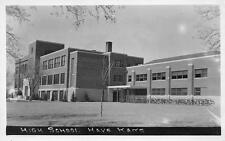 RPPC HAYS, KS High School Kansas Vintage Postcard 1944