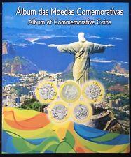 Commemorative Coins Album Of Olympic Games Rio 2016