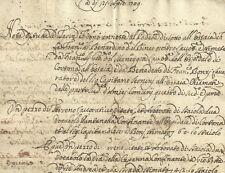 Cortona Nota di Terre annesse al Podere Ossaia 1709