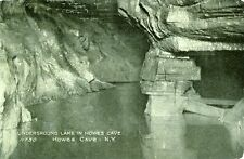 Howes Caves,NY. Underground Lake in Howes Cave 1906